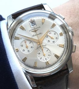 Longines Heritage Conquest Automatic Chronograph with Date