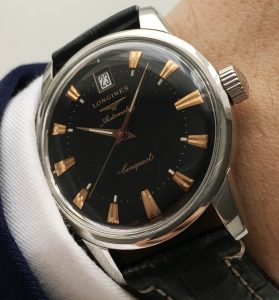 Perfect Longines Heritage Conquest Automatic - black dial