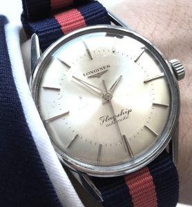 Superrare Lognines Flagship Automatic 1104 Conquest Heritage