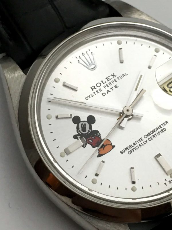Great Rolex Date Automatic with Mickey Mouse Dial
