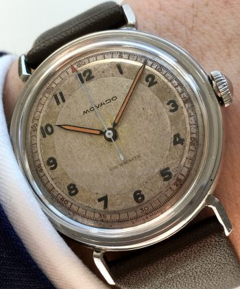 Amazing Movado Milgauss amagnetic Scientific dialed vintage