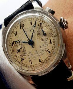 omega cal 33.3 chronograph 2