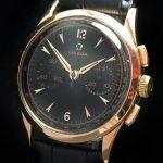 36mm Omega Vintage Chronograph 18 carat pink gold cal 320