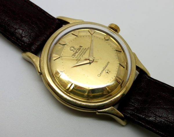 Omega Constellation Solid Gold Automatic De Lux
