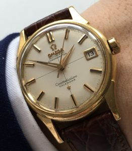 Omega Constellation Calendar Solid Gold 18ct .750 Chronometer