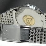 WORLD CLASS Omega Constellation Pie Pan Steel Genuine Papers
