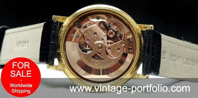 Top 1967 Omega Constellation DeLuxe Solid 18k Gold Fullset