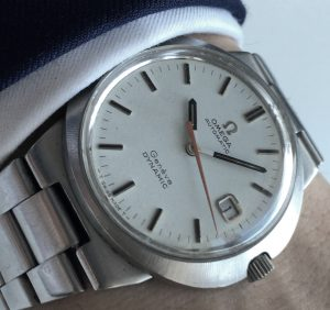 Original Omega Geneve Dynamic Automatic Date with Omega Steel Strap