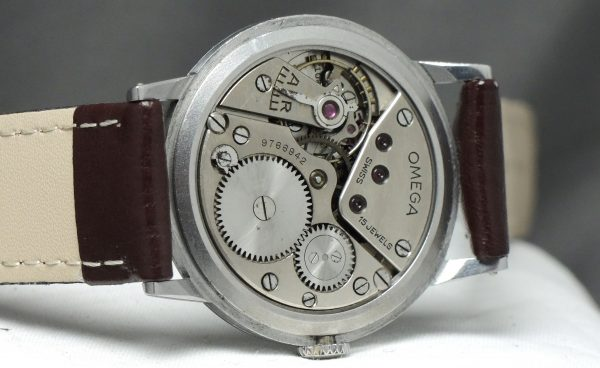Top 37mm Omega Oversize 30t2 grau schwarzes two tone dial