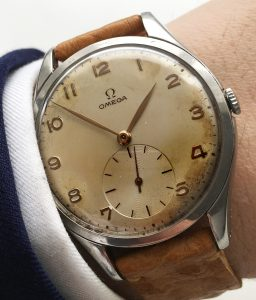 Omega 38mm Oversize Jumbo Watch