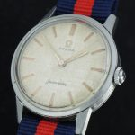 Stunning Omega Seamaster Watch with Linen dial