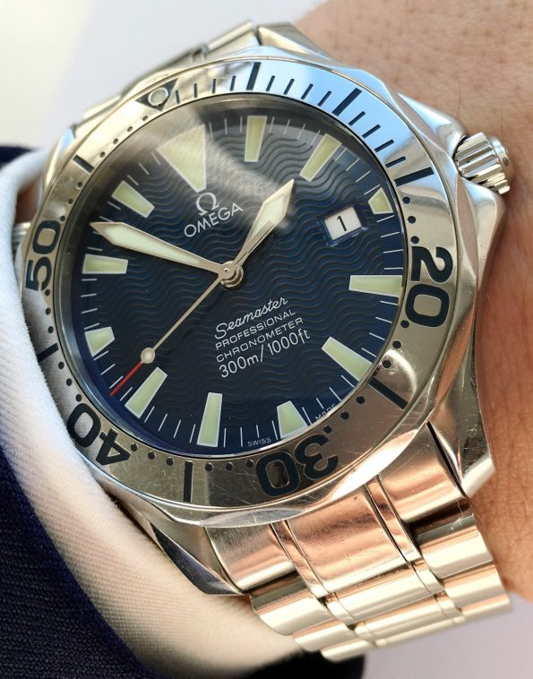 Omega Seamaster Professional 300 Meter Automatic 41mm Diver Full Set