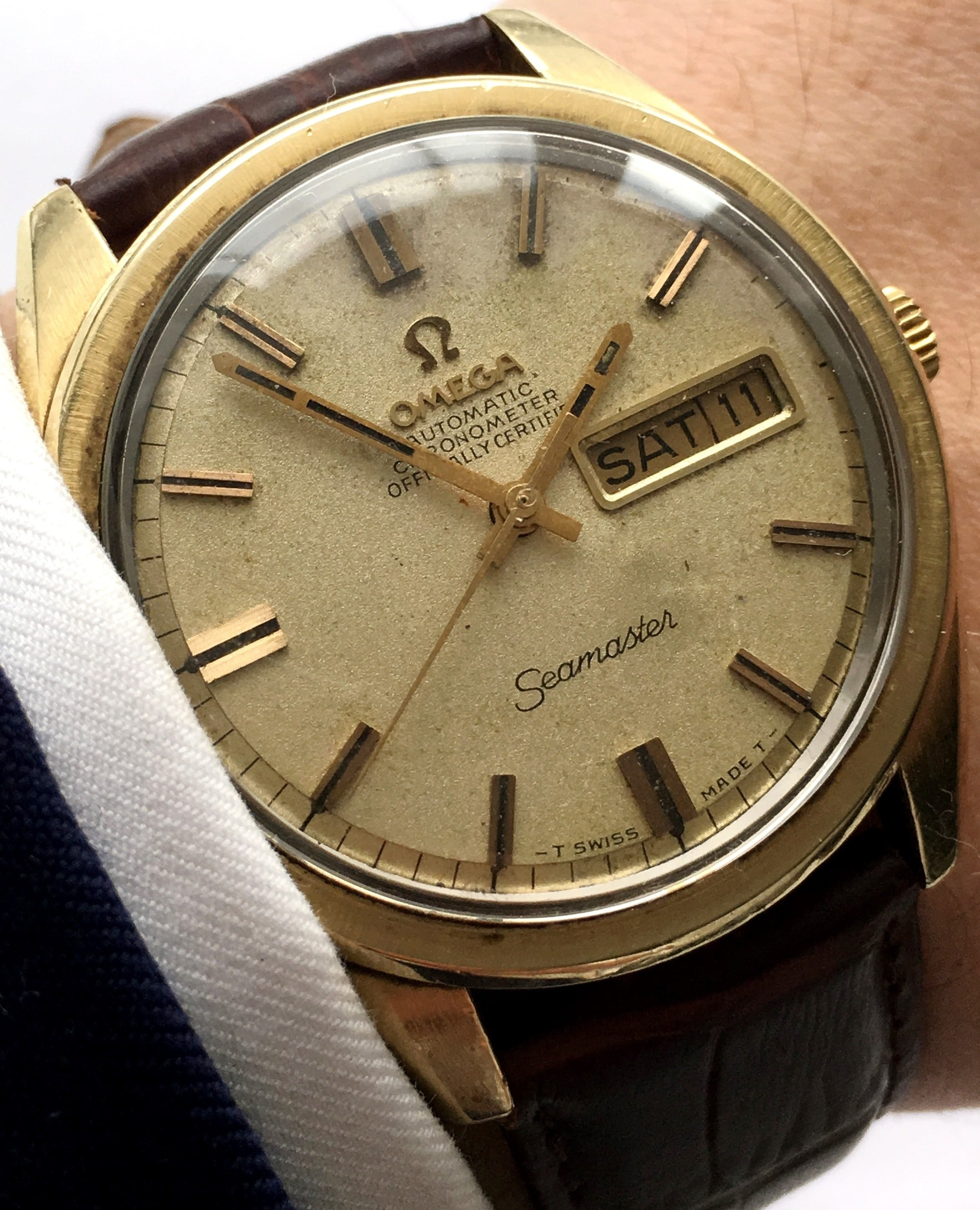 Omega Seamaster Chronometer Day Date Automatic - Vintage Portfolio 746fcc6d23