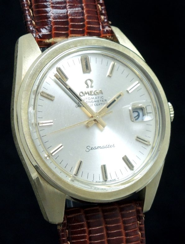 1967 Omega Seamaster Automatik Chronometer Oversize Jumbo 37mm