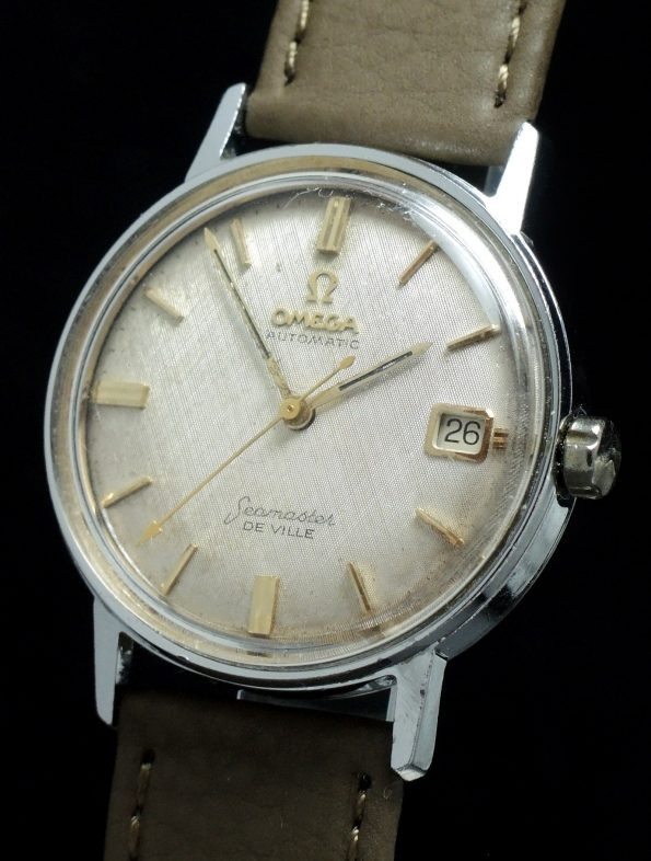 Omega Seamaster De Ville Vintage Linen dial