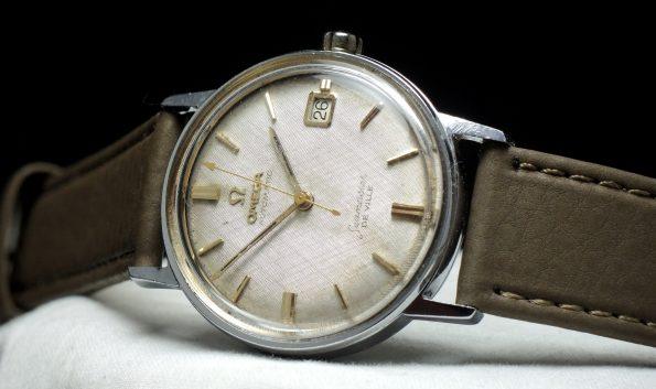 Omega Seamaster Automatik De Ville Vintage Linen dial