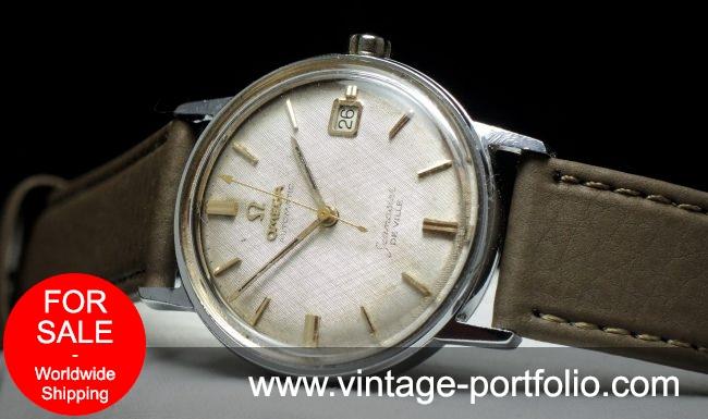 Omega Seamaster De Ville Vintage Linen dial Vintage Automatic