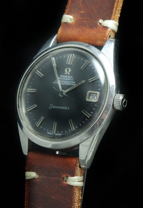 Serviced Omega Seamaster Automatik Automatic black dial Vintage