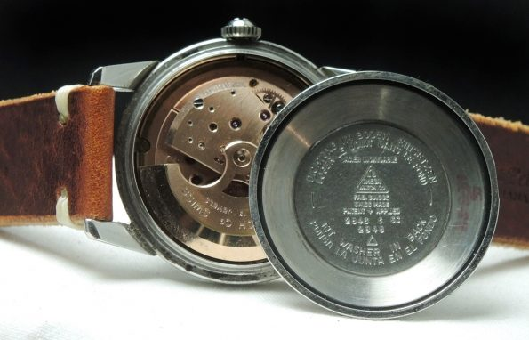 Omega Seamaster Automatic Vintage Calatrava black dial
