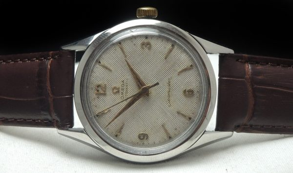 Vintage Omega Seamaster Automatic Honeycomb dial