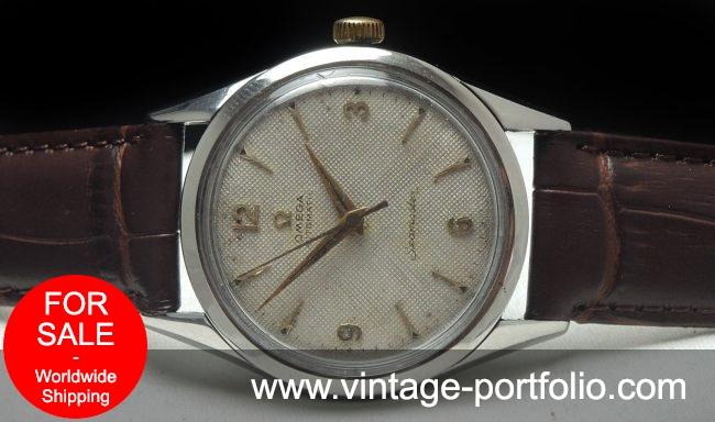 Vintage Omega Seamaster Automatic Honeycomb dial