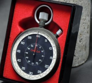 BARGAIN - Genuine Omega Stopp watch with Omega Box