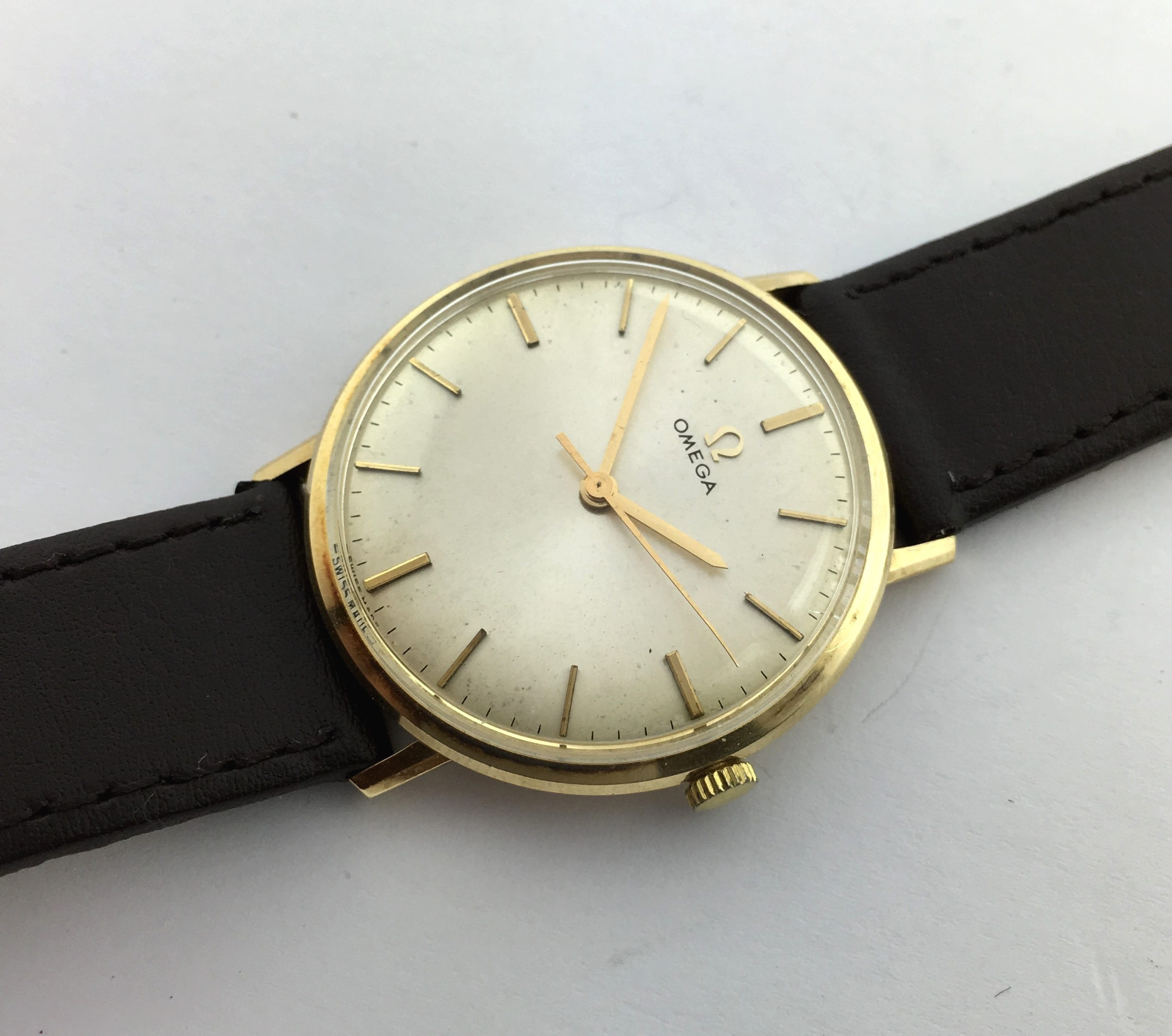 Omega Uhren Damen Gold