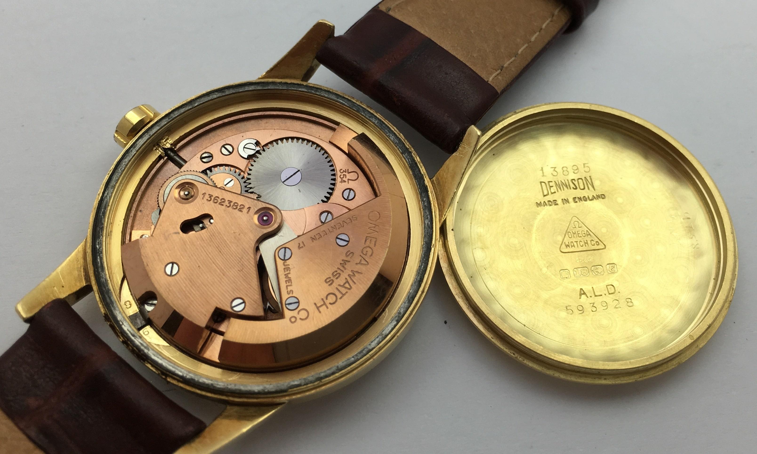 Omega Seamaster Vintage Gold