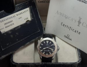 Omega Seamaster Professional 300 M Automatik 41mm Americas Cup
