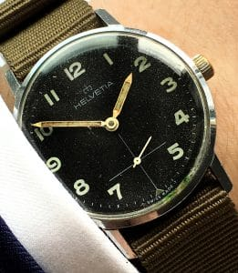 Helvetia Military Vintage Watch