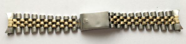 Original Rolex Jubilee Steel Strap, r Series, 62523 H, 455 from 1993