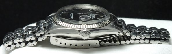 Serviced Rolex Datejust Automatic black dial 1601