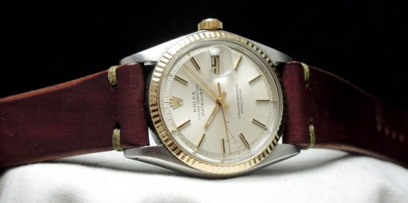 Serviced  Rolex Datejust 1601 with vintage strap