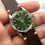 rolex vintage air king green dial 5500 (12)