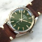 rolex vintage air king green dial 5500 (13)