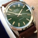 rolex vintage air king green dial 5500 (2)