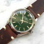 rolex vintage air king green dial 5500 (4)