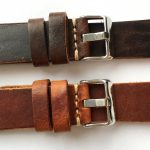 Wonderful 22mm Vintage Leather Straps hand crafted