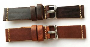 [:en]Wonderful 22mm Vintage Leather Straps hand crafted[:de]Superschöne 22mm Vintage Echtlederbänder handgefertigt[:]
