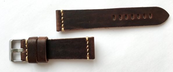 Wonderful 22mm Vintage Leather Straps, hand crafted