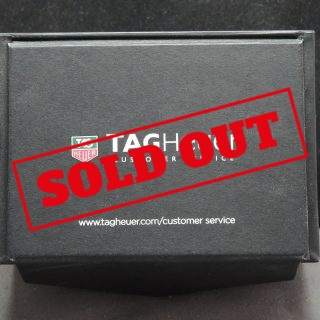 Genuine Tag Heuer box in black