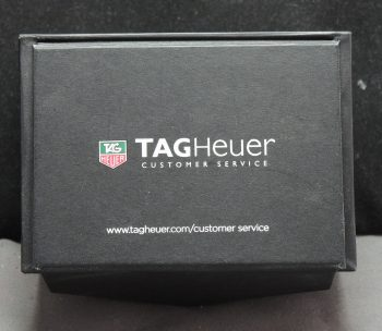 Genuine Tag Heuer box in black