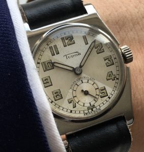 "One of the first Vintage Tudor models ""Cased by Rolex"" Vintage"