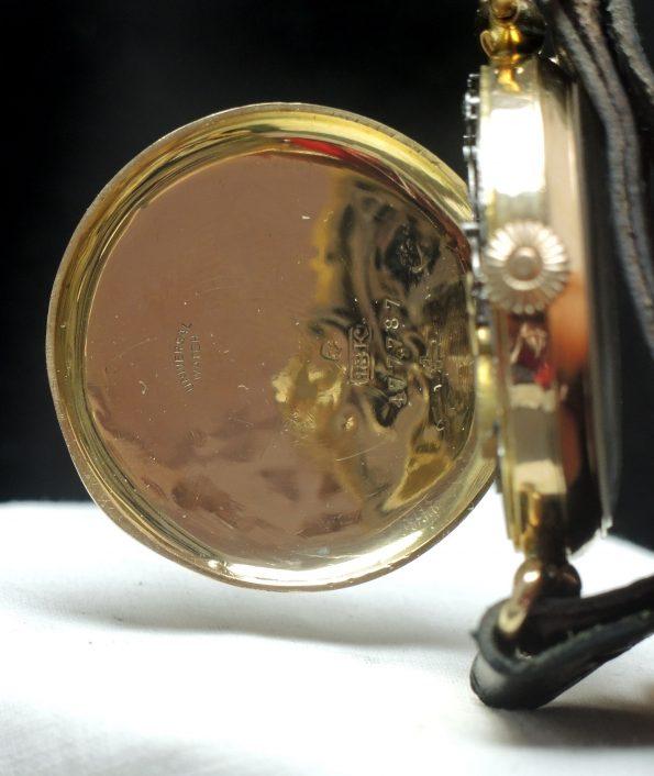 Universal Geneve Single Pusher Botton Chronograph Oversize Jumbo