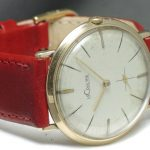 Jaeger Le Coultre 14 carat solid Gold Ladies watch
