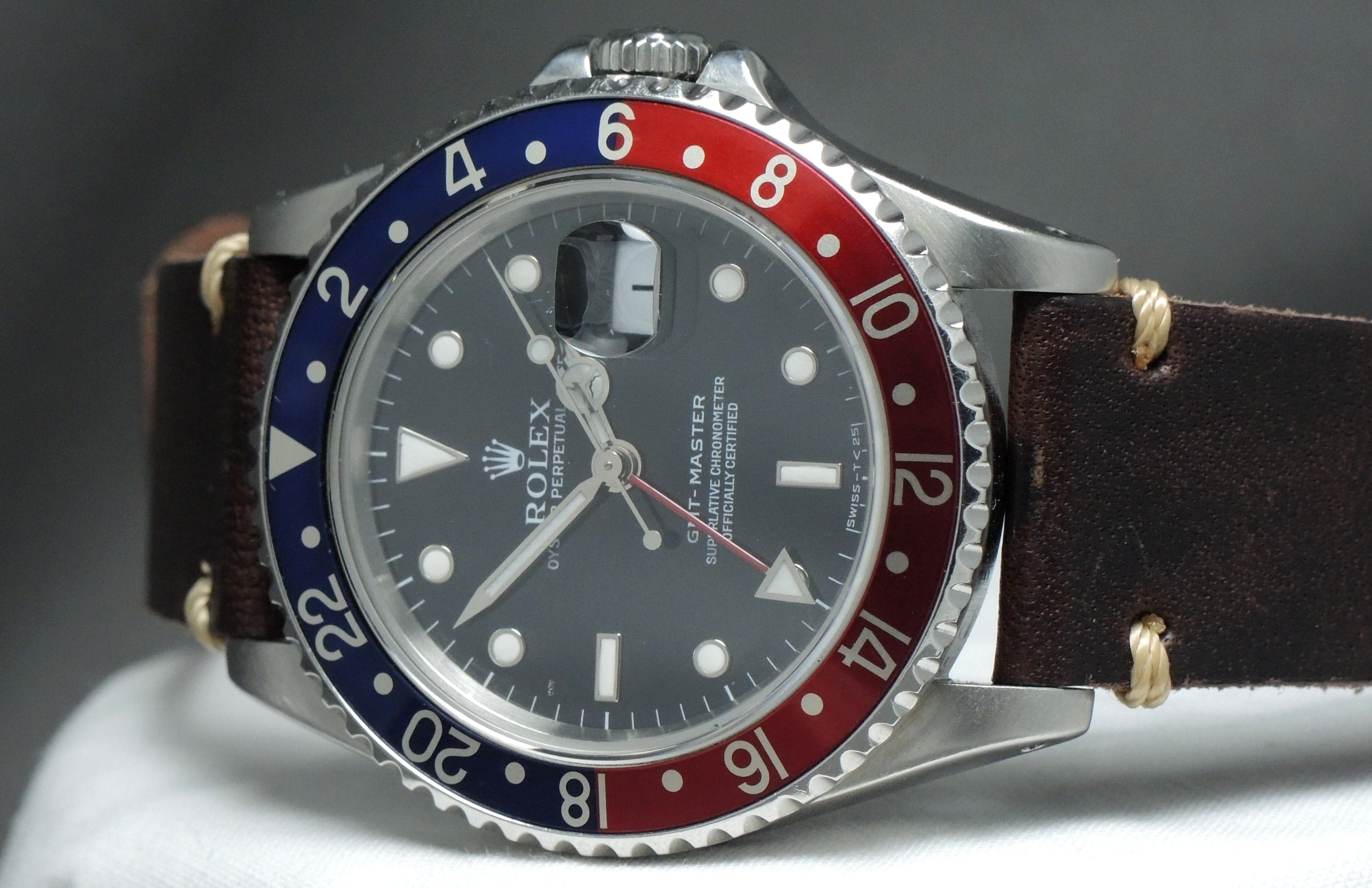 Rolex Gmt Master Lederband