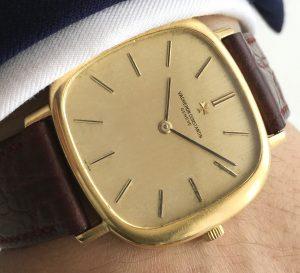 Oversize Jumbo Vacheron Constantin Solid Gold 18ct