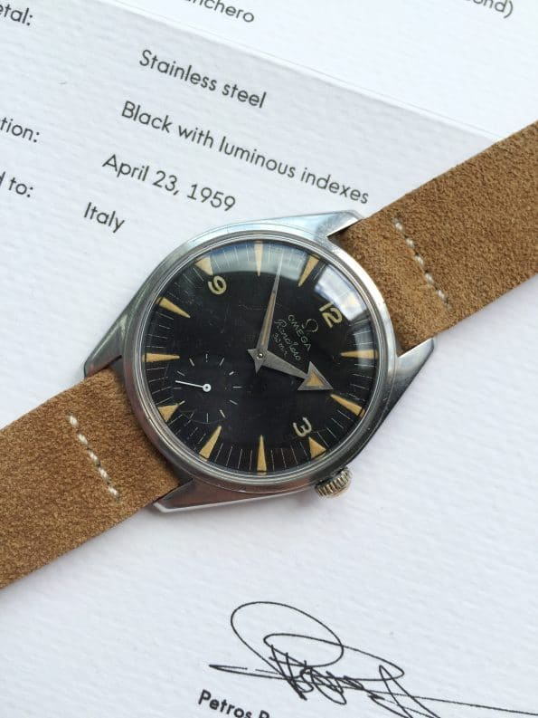 WITH EXTRACT Original Omega Ranchero Vintage Broad Arrow