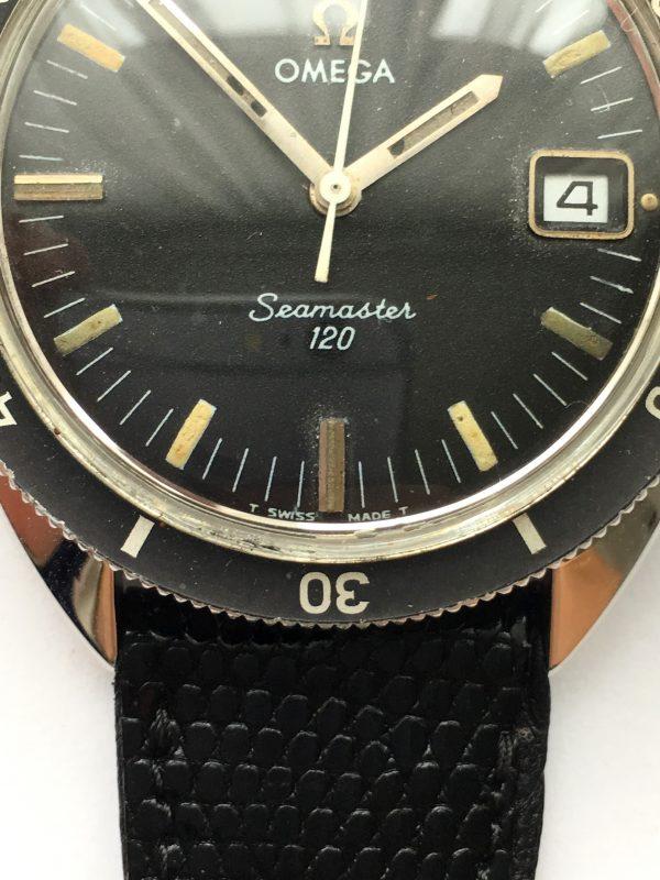 Original Omega Seamaster 120 Vintage Diver