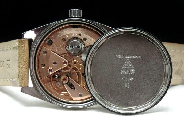 Rare Omega Geneve Vintage Steel blue dial